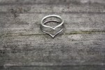 chevron rings