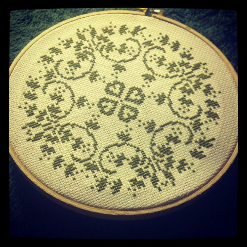 my latest cross stich